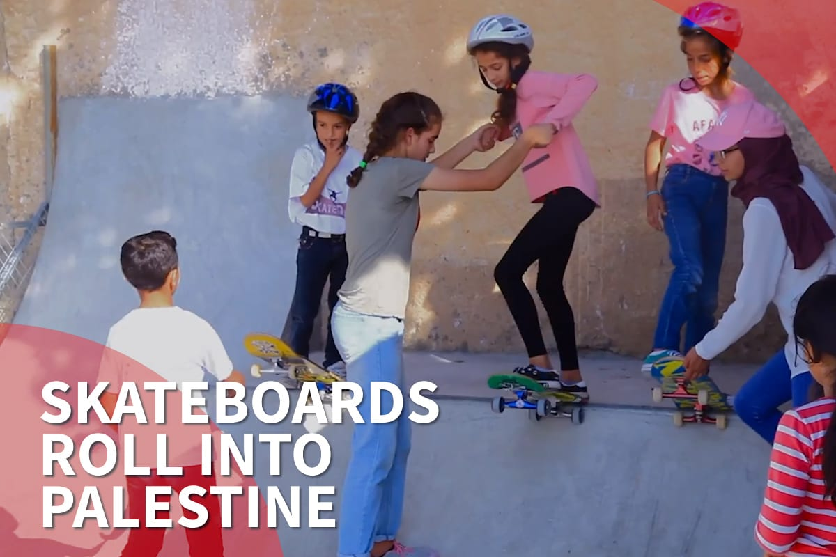 Thumbnail - 'Radical' in Ramallah, the Palestinian skateboard scene