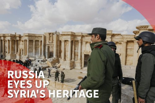 Thumbnail: Russia wins bid for Syria's antiquities