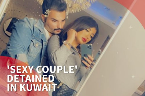 Thumbnail - 'Sexy Kuwaiti' couple arrested