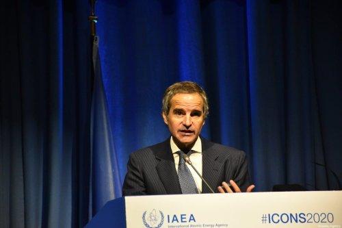 Director General of the International Atomic Energy Agency (IAEA), Rafael Grossi in Vienna, Austria on February 10, 2020 [Aşkın Kıyağan/Anadolu Agency]
