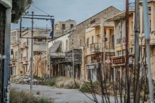 A view of abandoned buildings in Closed Maras (or Varosha in Greek), Turkish Republic of Northern Cyprus (TRNC) on February 15, 2020 [Muhammet Fatih Oğraş / Anadolu Agency]