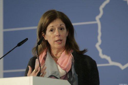UN Deputy Special Representative for Political Affairs in Libya, Stephanie Williams on February 16, 2020 in Munich, Germany [Abdulhamid Hoşbaş/Anadolu Agency]