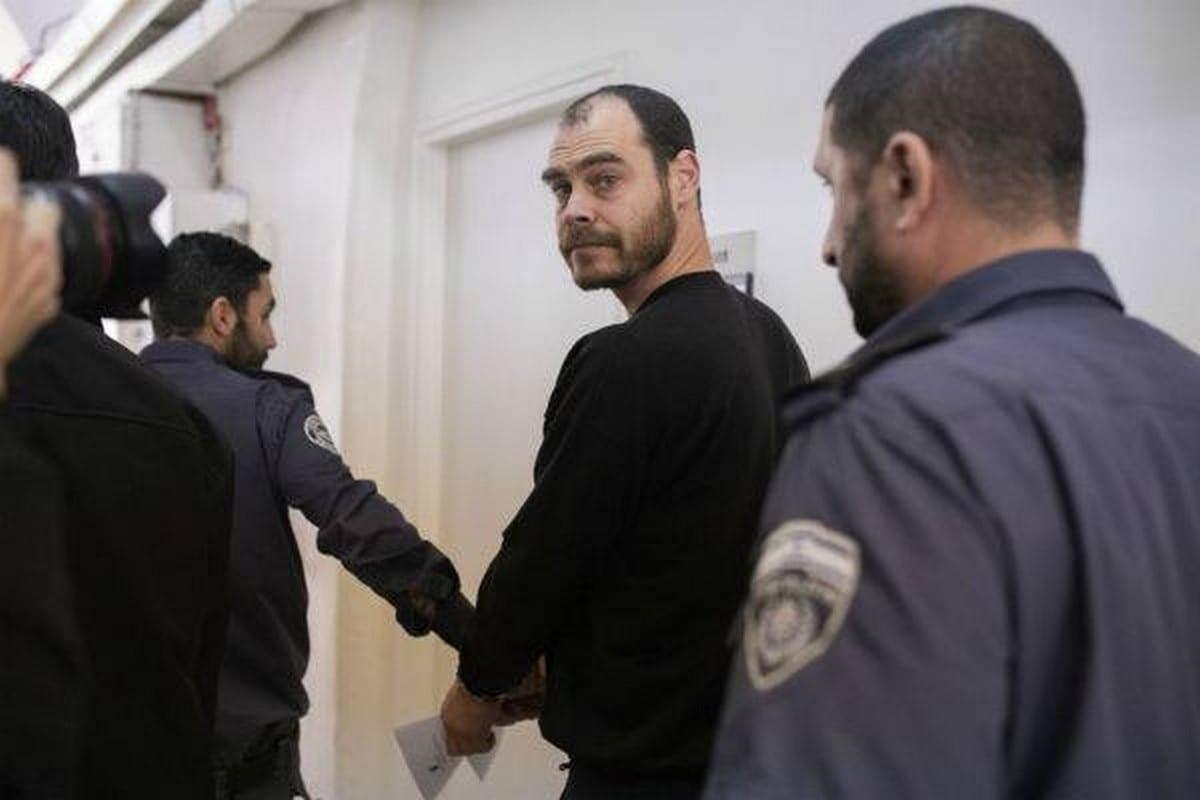 Israeli anti-occupation activist Jonathan Pollak is arrested by Israeli forces, 25 February 2020