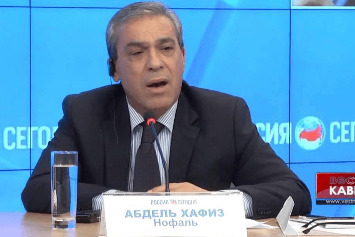 Palestine's Ambassador to Moscow Abdel Hafiz Nofal [Youtube]