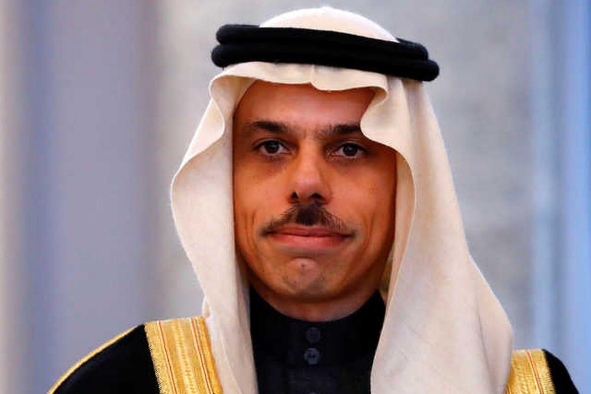 Saudi Minister of Foreign Affairs, Faisal Bin Farhan Bin Abdullah