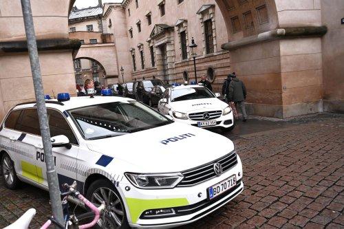 Danish Police arrive at Copenhagen City Court in Copenhagen on December 12, 2019 [PHILIP DAVALI/Ritzau Scanpix/AFP via Getty Images]