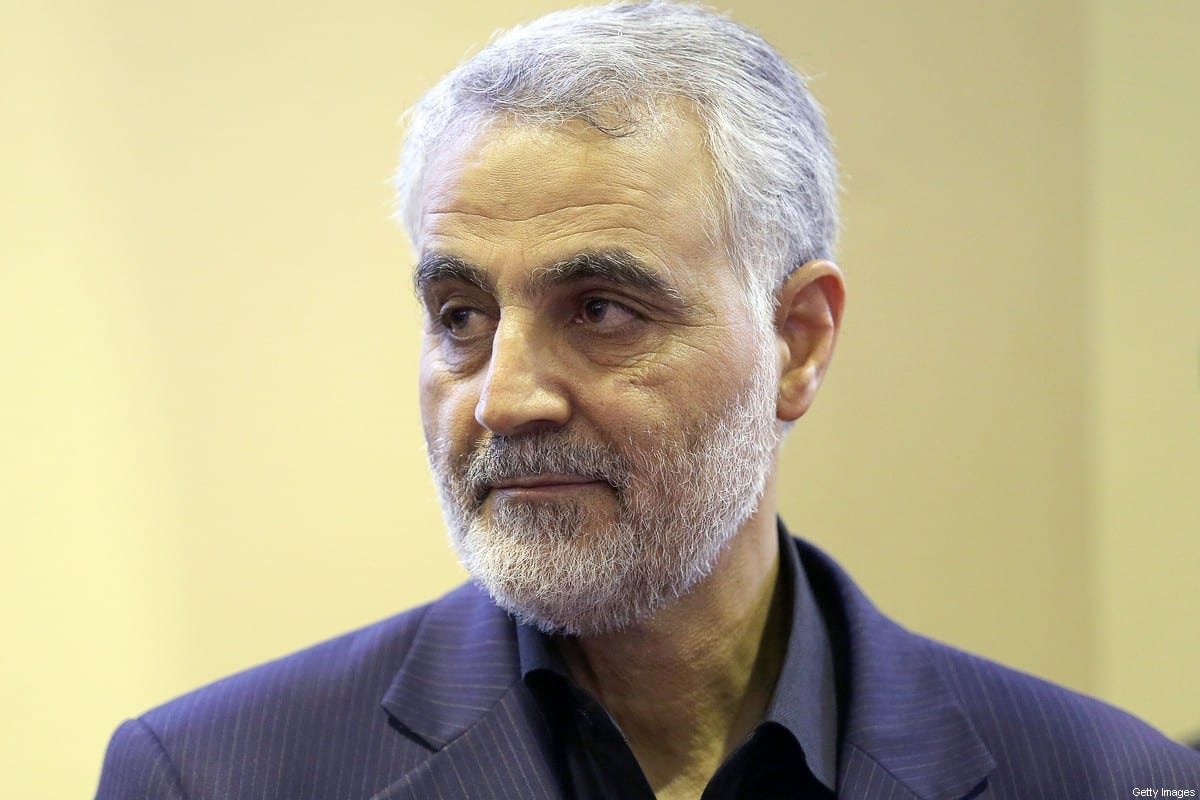 In this picture taken on September 14, 2013, the commander of the Iranian Revolutionary Guard's Quds Force, Gen. Qassem Soleimani [GHASEMI/ISNA/AFP via Getty Images]