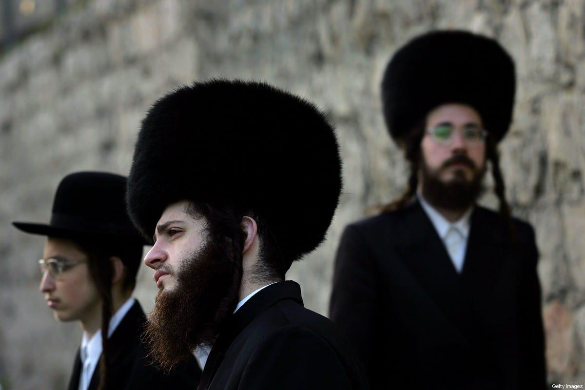 Ultra Orthodox Jews in Jerusalem 15 March 2006 [SAMUEL ARANDA/AFP/Getty Images]