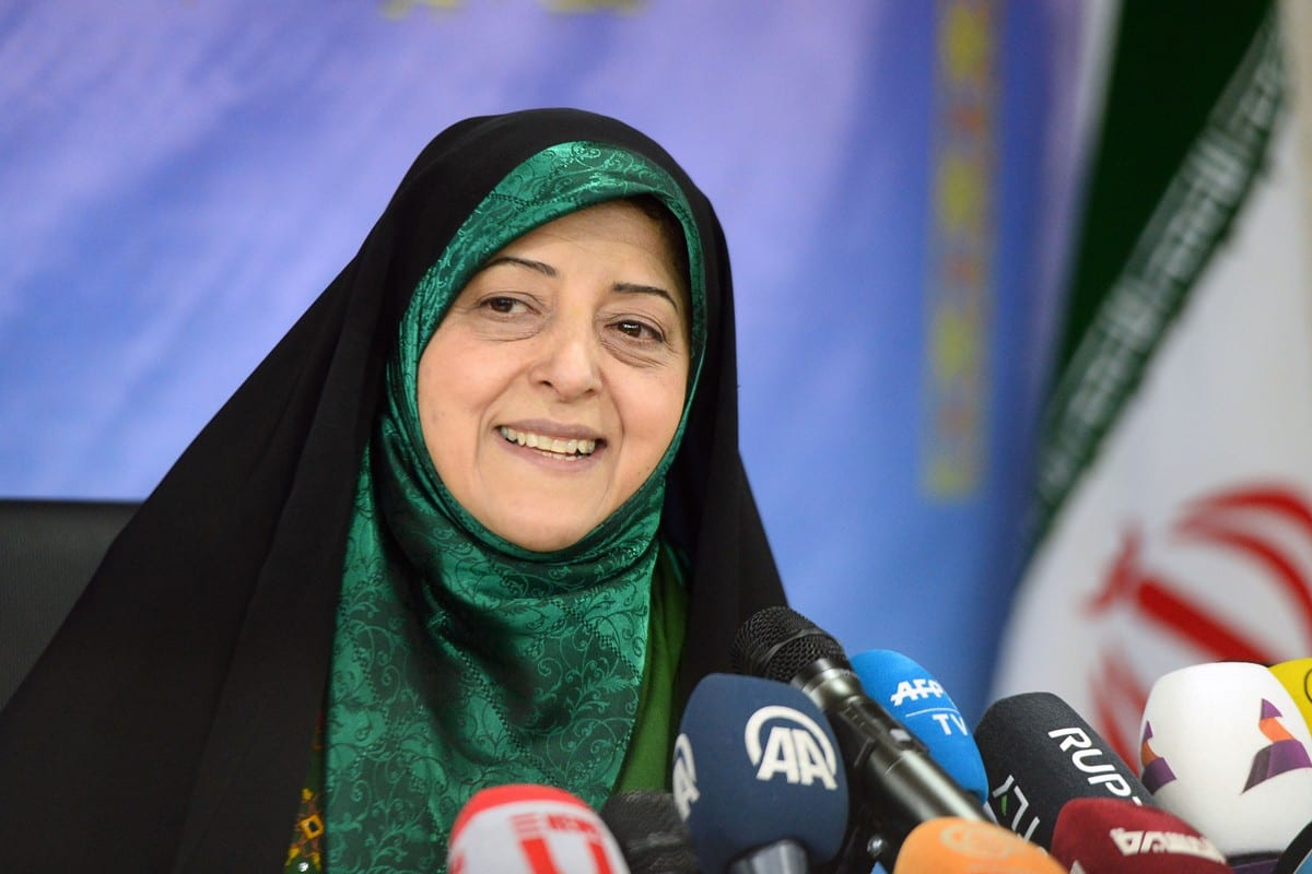 Iranian Vice President for Women and Family Affairs Masoumeh Ebtekar in Tehran, Iran on 20 January 2019 [Fatemeh Bahrami/Anadolu Agency]