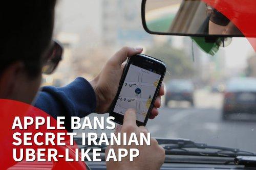 Thumbnail - Apple bans secret Iran Uber-like app