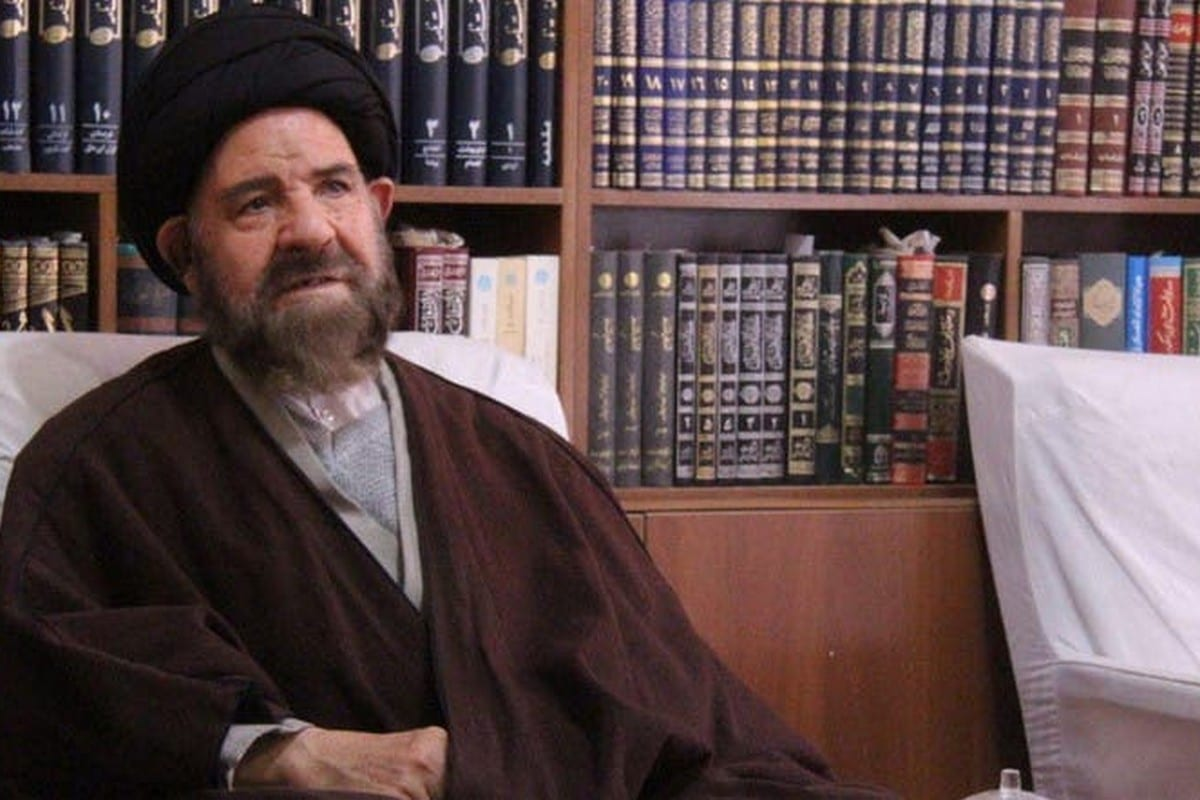 Representative of the people in Tehran at the Iranian Assembly of Experts, Ayatollah Hashem Bathaei-Golpaygani, 17 March 2020 [Middle East Affairs/Twitter]