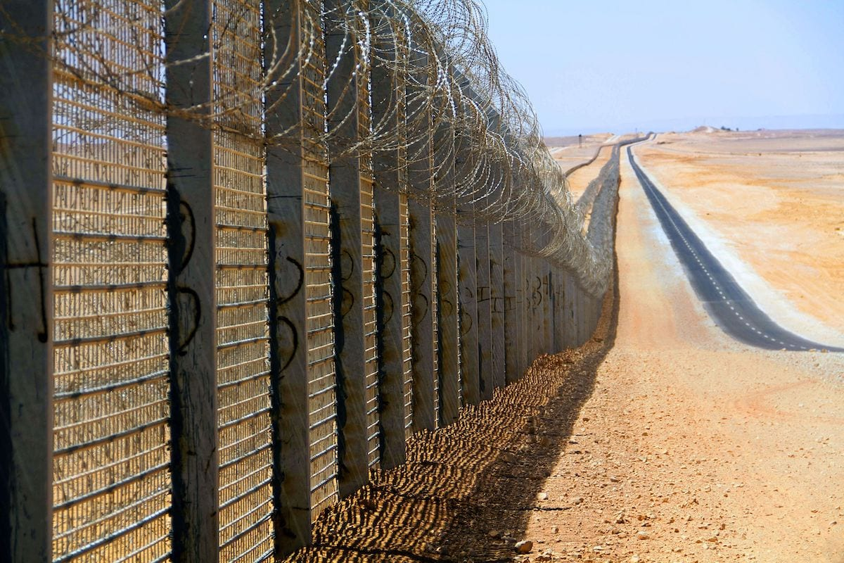 Egypt-Israel boder [Wikipedia]