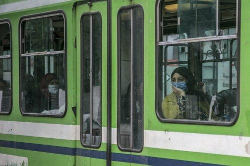 People wear masks as a preventive measure against coronavirus (Covid-19) pandemic in Tunis, Tunisia on 17 March 2020 [Yassine Gaidi/Anadolu Agency]