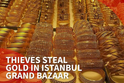 thumbnail - Thieves steal gold in Istanbul's Grand Bazaar
