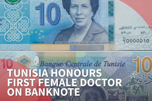 Thumbnail - Tunisia honours first female doctor on banknote