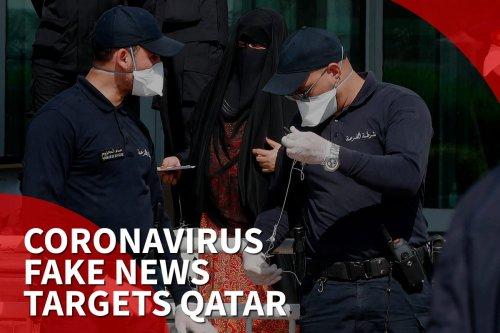 Thumbnail: 'Qatar created coronavirus' says online disinformation campaign