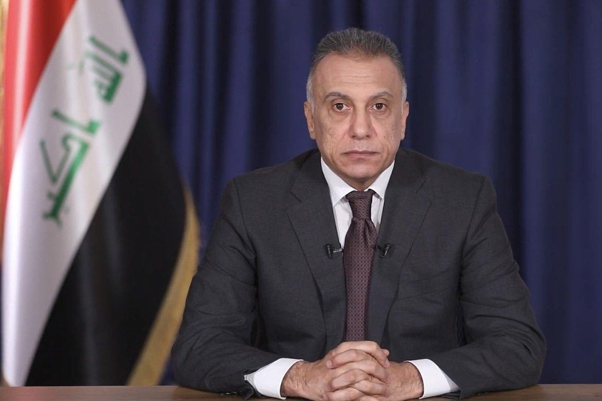 Iraq's newly-appointed Prime Minister-designate, Mustafa al-Kadhimi on 9 April 2020 [Wikipedia]
