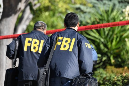 FBI investigators California, US on 8 November 2018 [ROBYN BECK/AFP/Getty Images]