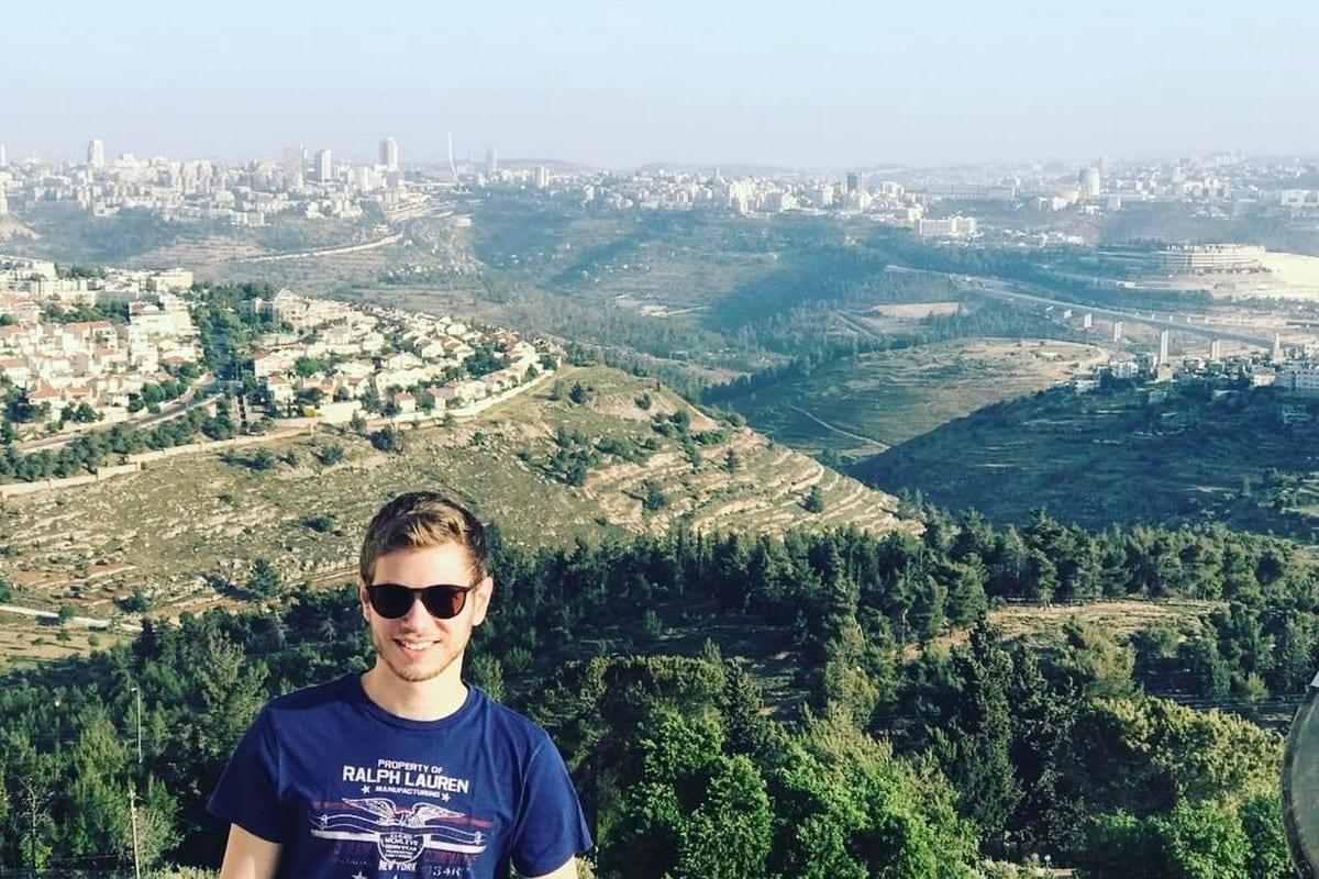 Yair Netanyhahu in Jerusalem on 2 May 2017 [Yair Netanyhahu/Facebook]