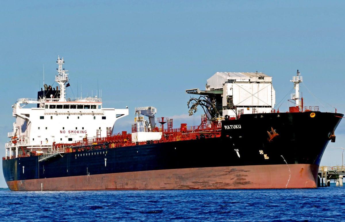 Chemical tanker [Bernard Spragg/Flickr]
