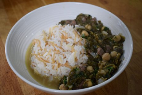 You've Been Served: Spinach Stew