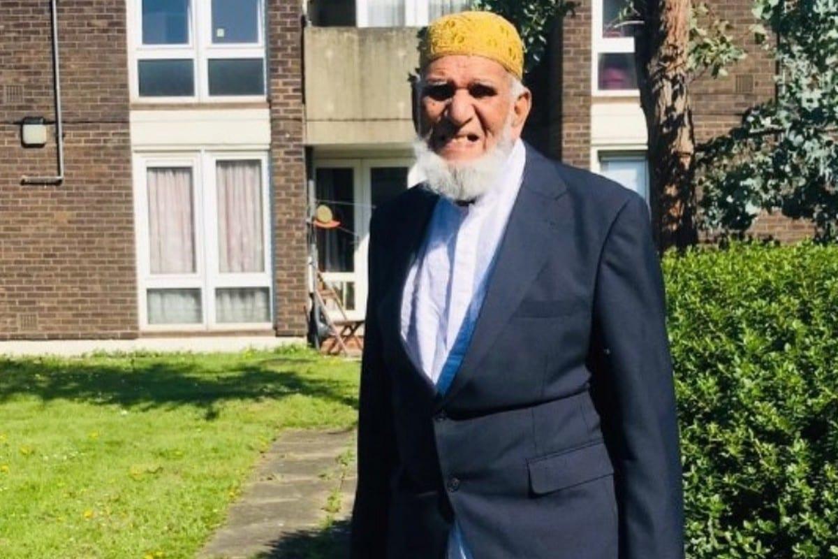 100-year-old Dabir Choudhury walks 100 laps to raise money to help refugees this Ramadan, 1 May 2020