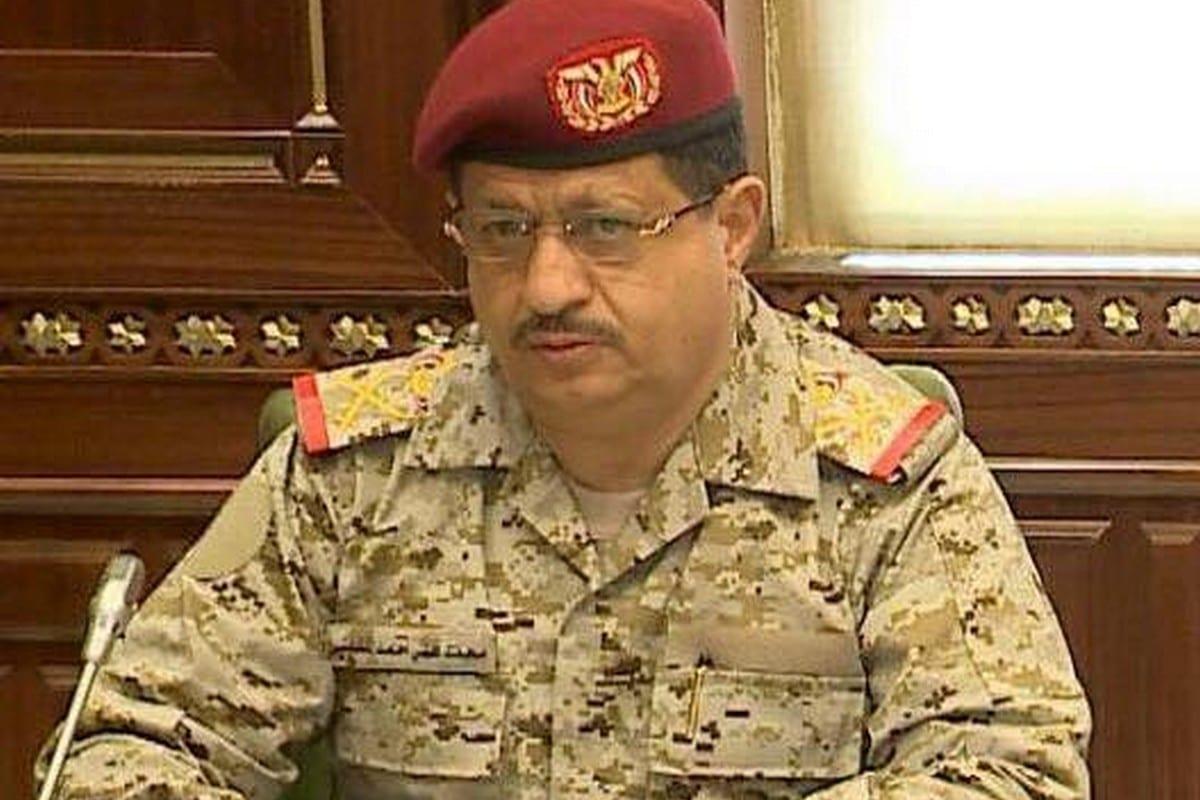 Yemeni Minister of Defence, Mohammad Ali Al-Maqdashi, 5 September 2017 [Twitter]