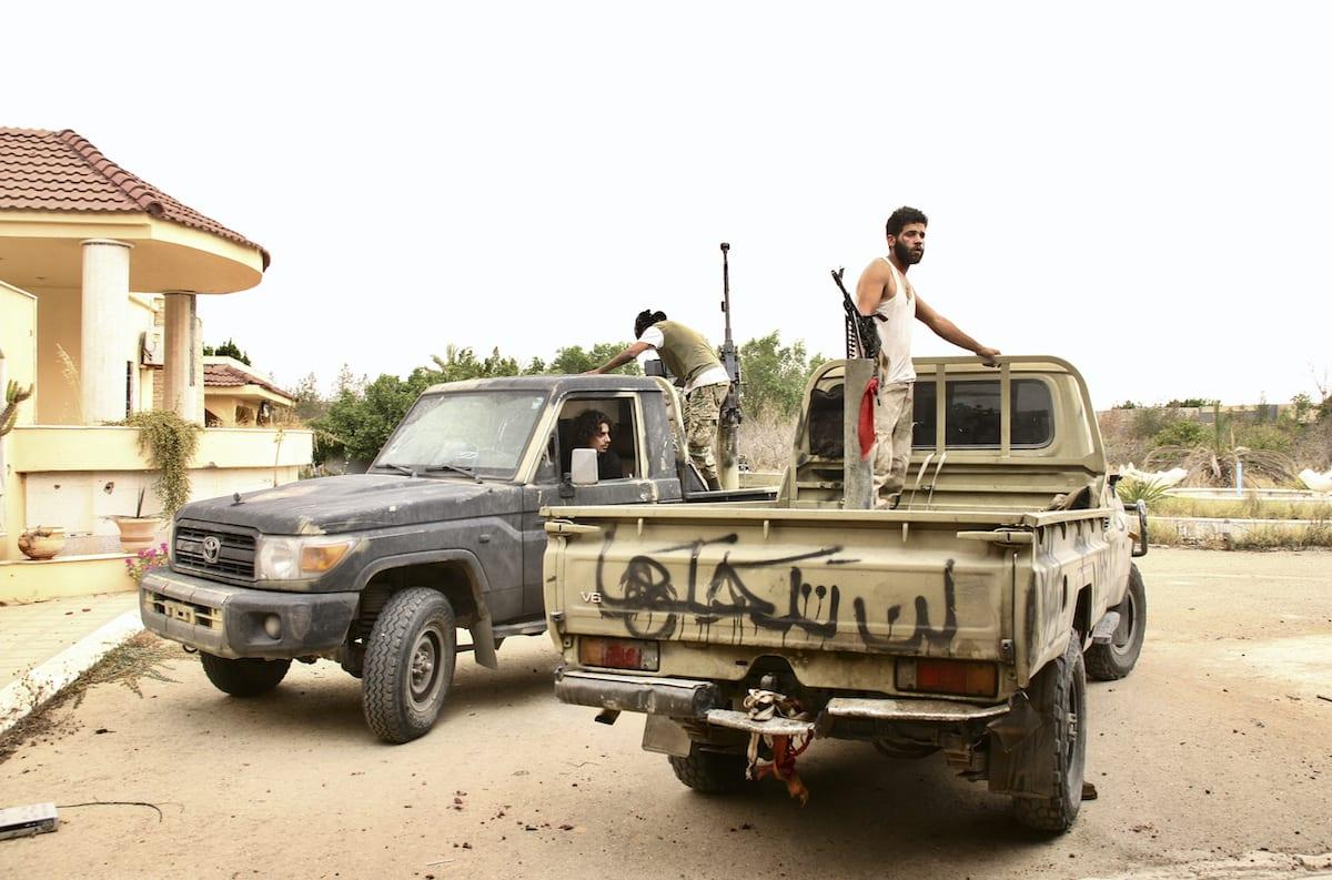 Eastern Libya forces retake key town from Tripoli-allied militias - spokesman
