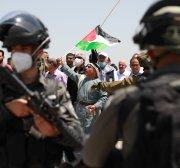 Israel forces crack down on demonstrators marking anniversary of Israel occupation