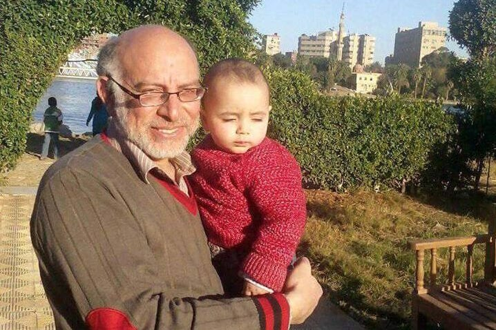 Ahmed Shawki Amasha 55 years. A human rights defender in Egypt. He was arrested from the vicinity in Cairo 2017 [@BreakcuffsEng /Twitter]