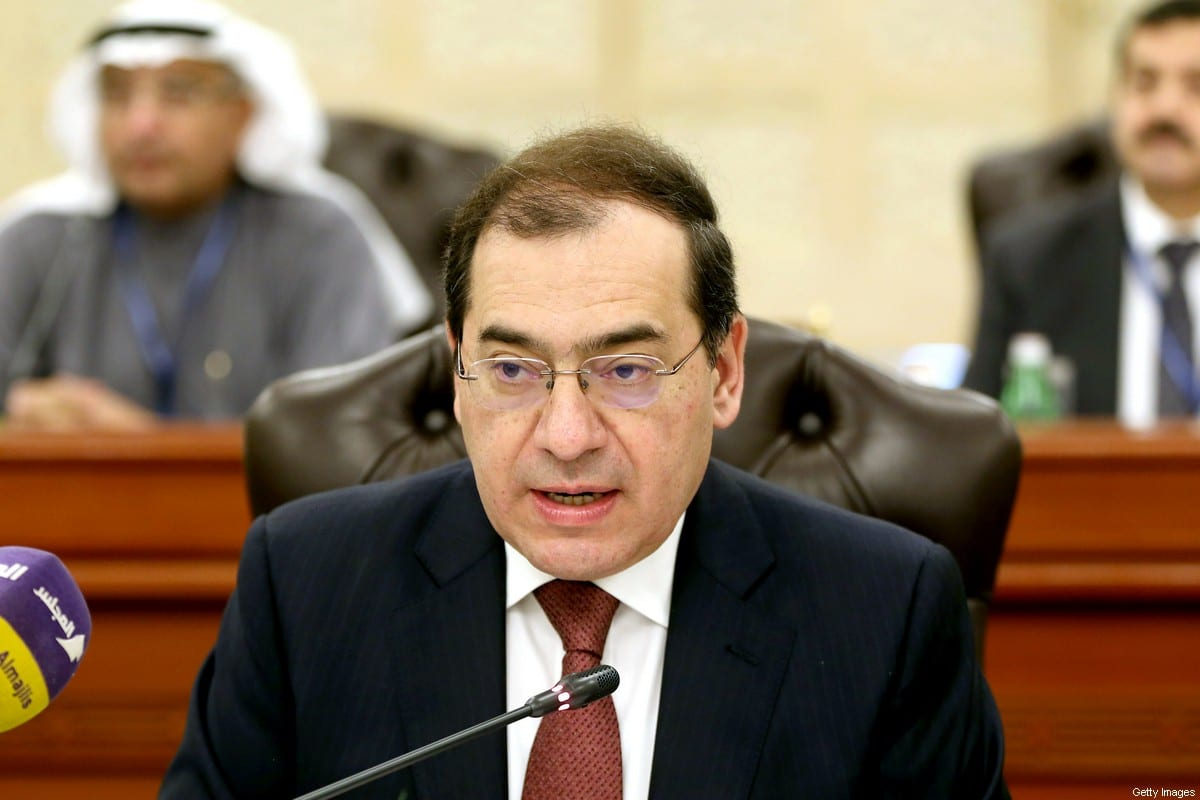 Egyptian Minister of Petroleum and Mineral Resources Tarek el-Molla in Kuwait City on 10 December 2017 [YASSER AL-ZAYYAT/AFP/Getty Images]