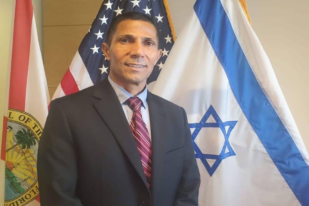 Arab-Israeli diplomat Ishmael Khaldi, 29 November 2019 [Facebook]