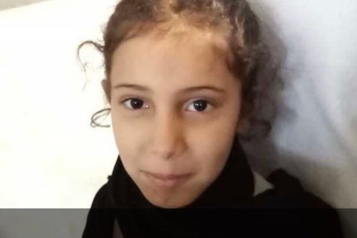 Noura, a Saudi girl, was was killed after a bulldozer demolished her home while she slept, 12 June 2020 [Twitter]