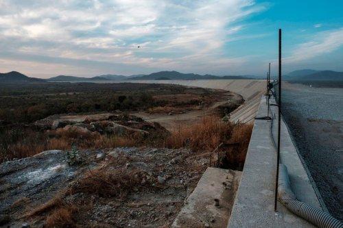 A general view the Grand Ethiopian Renaissance Dam on 26 December 2019 [EDUARDO SOTERAS/AFP/Getty Images]