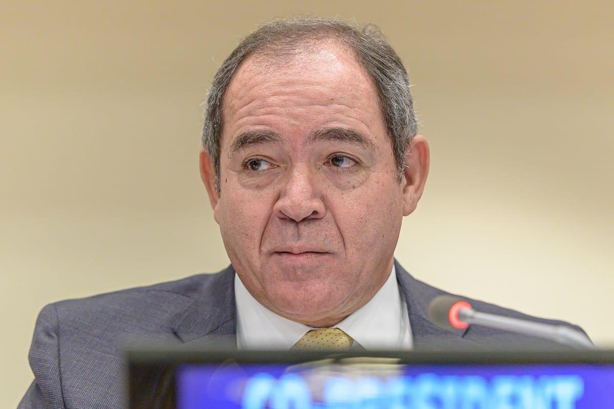 Sabri Boukadoum, Minister of Foreign Affairs for Algeria New York, US on 25 September 2019 [The Official CTBTO Photostream/Flickr]