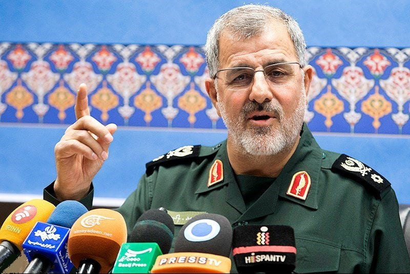 Brigadier general Mohammad Pakpour commander of Ground Force of Iranian Revolutionary Guards [Wikipedia]