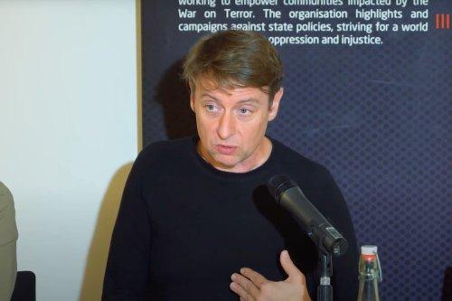 University of Bristol academic David Miller [Youtube screengrab/CAGE]