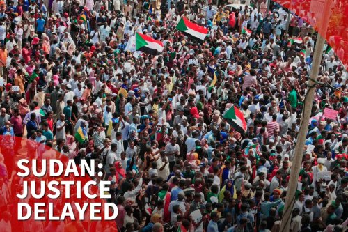 thumbnail - One year on: Victims of Sudan crackdown await justice