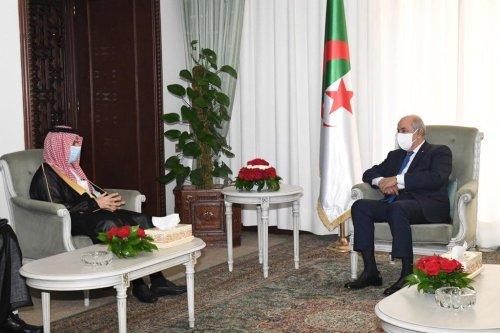 Saudi Foreign Minister, Faisal Bin Farhan, arrived in Algeria yesterday evening following a visit to Egypt [@FaisalbinFarhan/Twitter]