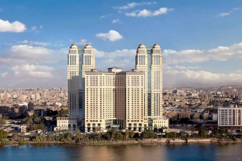 Fairmont Nile City Hotel in Cairo, Egypt on 12 August 2017 [africa_guide/Twitter]