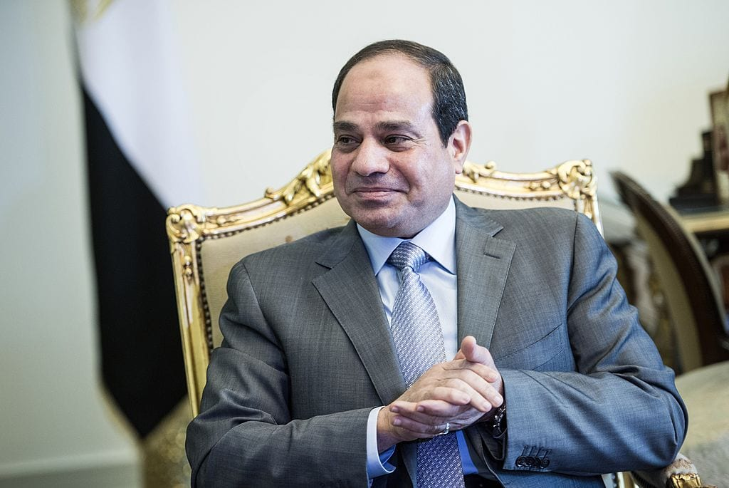 Egyptian President Abdel Fattah Al-Sisi Cairo, Egypt on 13 September 2014 [BRENDAN SMIALOWSKI/AFP/Getty Images]