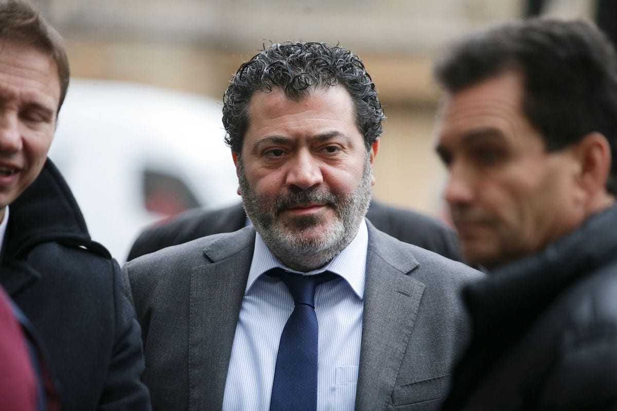 Ziad Akle, Monaco-based firm Unaoil's territory manager for Iraq, arrives for a first appearance at Westminster Magestrates Court in London on December 7, 2017 [DANIEL LEAL-OLIVAS/AFP via Getty Images]