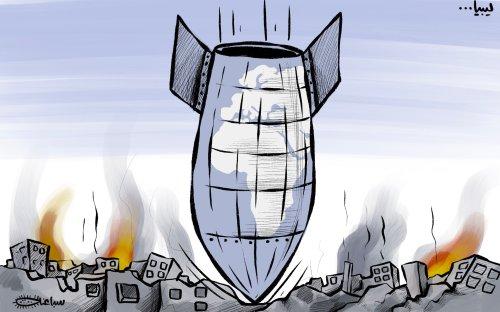 Libya: Never-ending chaos - Cartoon [Sabaaneh/MiddleEastMonitor]