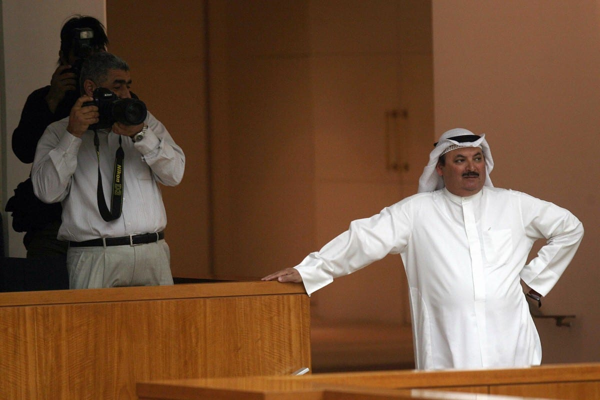 Kuwaiti MP Nasser Al-Duwailah (R) attends a parliament session at the National Assembly in Kuwait City on 19 November 2008 [YASSER AL-ZAYYAT/AFP/Getty Images]