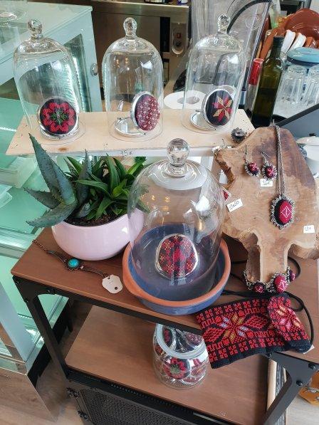 Palestinian crafts - ARDI Facebook