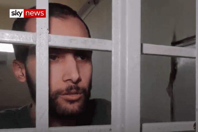 Londoner Ishak Mostefaoui, 27, died in a Kurdish prison after joining Daesh [Screenshot/Sky News]