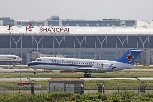 Domestic air plane in Shanghai, China on 28th June, 2020 [TPG/Getty Images]