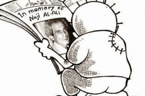 Thumbnail - Remembering Palestinian cartoonist Naji Al-Ali