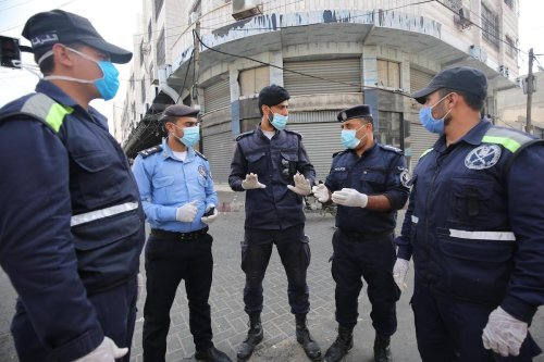 Gaza is placed on high alert after it reported its first case of the coronavirus outside of the quarantine facilities, on 25 August 2020 in Gaza [Mohammed Asad/Middle East Monitor]