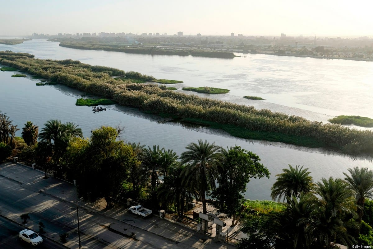 A view of the Nile river in Egypt's capital Cairo on 26 November 2019 [AMIR MAKAR/AFP via Getty Images]